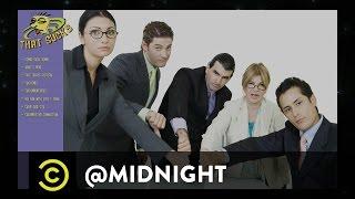 Chris Kluwe, Tom Ellis, Rachel Feinstein - What Sucks? - @midnight with Chris Hardwick