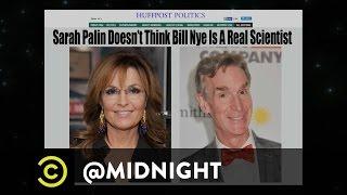 Tyler Labine, Steve Agee, Doug Benson - That's a Palinin' - @midnight with Chris Hardwick
