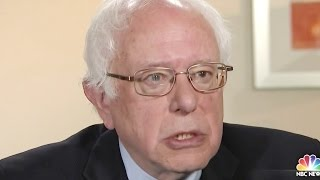 Bernie Sanders: 'There Is Almost A Question' As To Why Cigarettes Are Legal