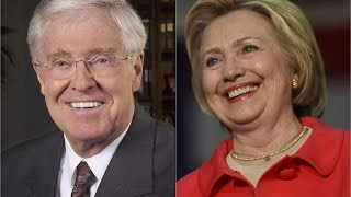 Charles Koch: 'It's Possible' That Hillary Is Better Than GOP Candidates