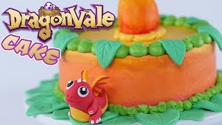 DRAGON FRUIT DRAGONVALE CAKE - NERDY NUMMIES