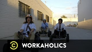 Workaholics - Racing Go-Karts Through a Golf Course