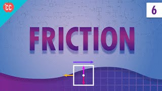 Friction: Crash Course Physics #6