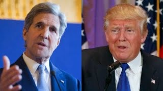John Kerry Attacks Trump In The Dumbest Way Imaginable