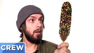 The Candy Corn Dog Creation - Good Mythical Crew Ep. 17