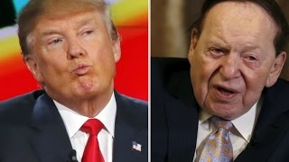Sheldon Adelson To Give Trump $100 Million For General Election
