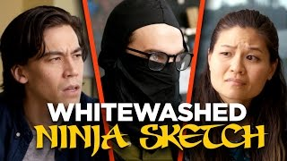 Our Ninja Sketch Got Whitewashed