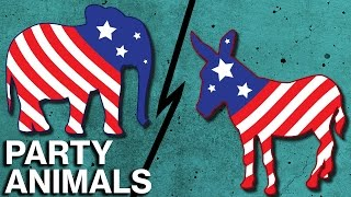 What's Behind The GOP Elephant and Democratic Donkey?