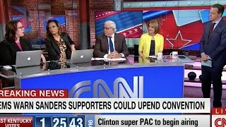 CNN Accuses Bernie Sanders Of 'Character Attack' On Hillary Clinton