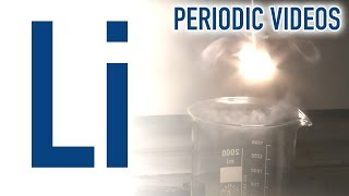 Lithium (new) - Periodic Table of Videos