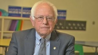 Bernie Sanders: Many Think Hillary Is 'Lesser Of Two Evils'