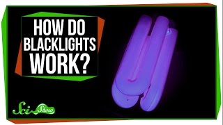How Do Blacklights Make Things Glow?