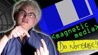 Magnetic Media (Floppies and Tapes) - Computerphile