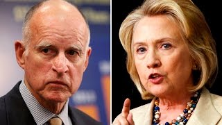 California Governor Endorses Hillary Over Bernie (With Bad Arguments)