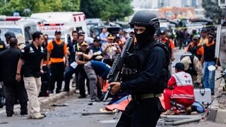 ISIS Attacks Jakarta, Indonesia