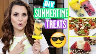 DIY SUMMERTIME TREATS!