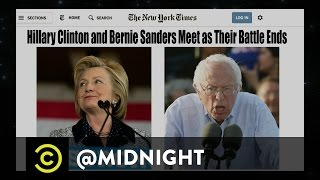 Suddenly Seeking Bernie - Gas-X on a Beach - @midnight with Chris Hardwick
