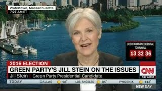 CNN Throws Right Wing Talking Points At Jill Stein