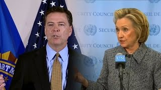 FBI: Hillary Broke The Law But There Will Be No Indictment