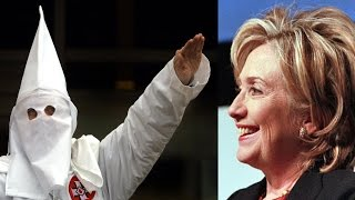 Trump Super PAC Tries To Link Hillary To The KKK