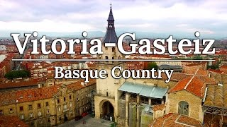 Vitoria Gasteiz & Valle Salado   Basque Country Spain Travel Vlog #4