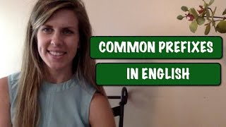 Learn English Vocabulary | Common Prefixes | RAMIREZ ENGLISH