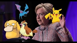 Hillary's Cringeworthy Pandering To Millenials, Pokémon Go Edition