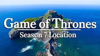 NEW GAME OF THRONES FILMING LOCATION!   Basque Country Spain Travel Vlog #7 (Full Episode)