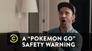 "A ""Pokemon Go"" Safety Warning From Nathan Barnatt"