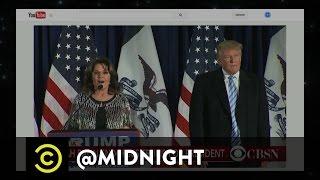 Ramon Rivas, Dan St. Germain, April Richardson - Where's Sarah Palin - @midnight with Chris Hardwick