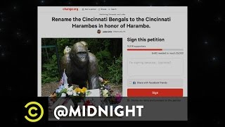 Cincinnati Harambes - @midnight with Chris Hardwick