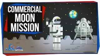The First Commercial Mission to the Moon!