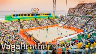 WOMEN'S BEACH VOLLEYBALL ON COPACABANA | Rio 2016 Olympics