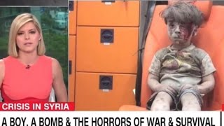 CNN Host Tears Up At The Devastation In Syria