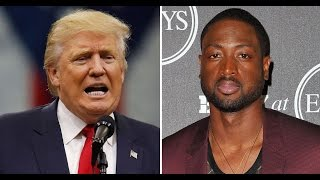 Cringeworthy: Trump Tweets About Dwyane Wade's Cousin's Murder