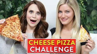 CHEESE PIZZA CHALLENGE ft iJustine!