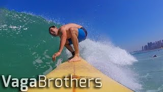 SURFING & BEACH VOLLEYBALL IN COPACABANA   RIO 2016 BRAZIL VLOG