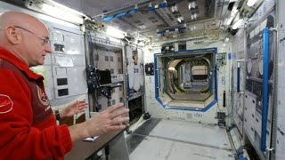 International Space Station Tour on Earth (1g) - Smarter Every Day 141
