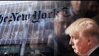 Trump Threatens To Sue The New York Times
