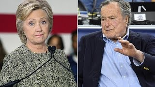 George HW Bush Is Voting For Hillary Clinton