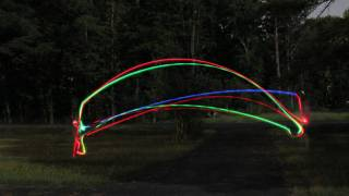 Night Flight - Light Trails / Light Painting - Smarter Every Day