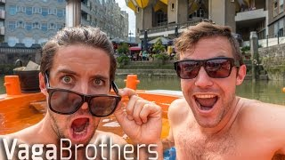 EXPLORING ROTTERDAM IN A DUTCH JACUZZI BOAT! (VLOG 1/3)