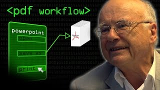 PDF Workflow - Computerphile