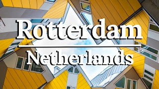 ROTTERDAM URBAN FARMING: SUSTAINABLE DESIGN CITY  | TRAVEL VLOG 2/3