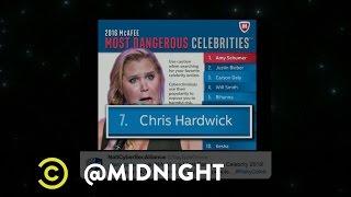 Chris Hardwick's Nip Slip - @midnight with Chris Hardwick