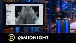 Chris Parnell, Judy Greer, Aisha Tyler - Performanshart - @midnight with Chris Hardwick