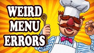 Top 10 Restaurant Menu Blunders — TopTenzNet