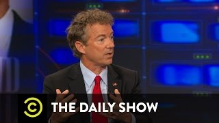 The Daily Show - Rand Paul Pt. 2