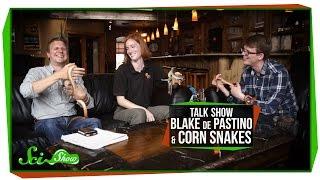 Talk Show: Blake de Pastino & Corn Snakes!
