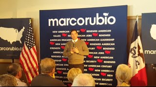 Rubio: I Care More About 'Living Forever' With God Than Life On Earth